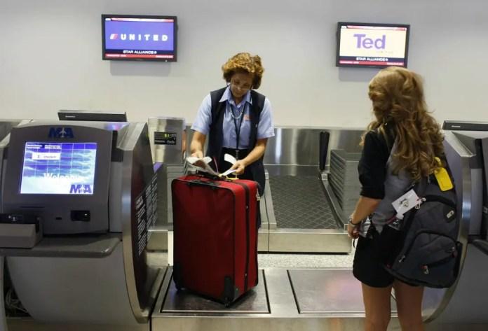 Hacer maletas como experto aeropuerto