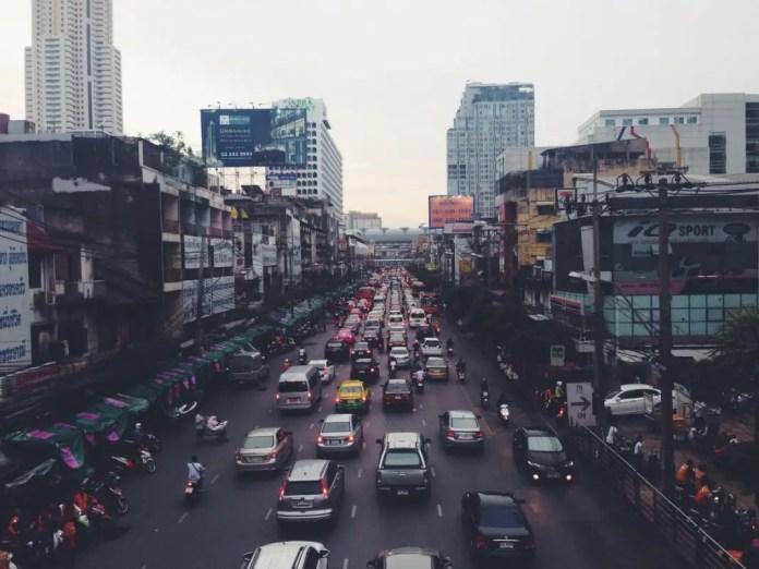vias de transporte en tailandia