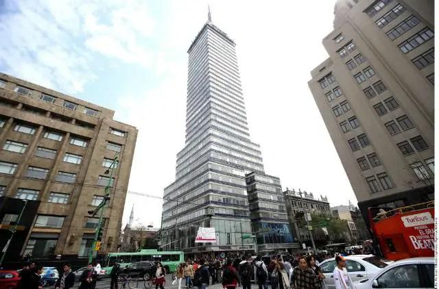 torre latinoamericana en mexico