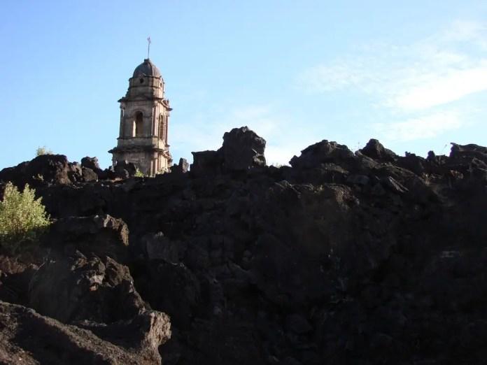 donde se encuentra el volcan paricutin