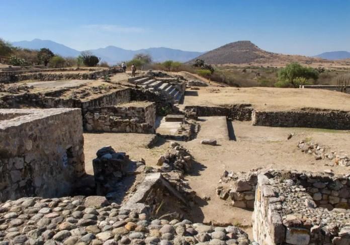 zonas arqueologicas mixtecas