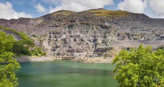central hidroelectrica en gales