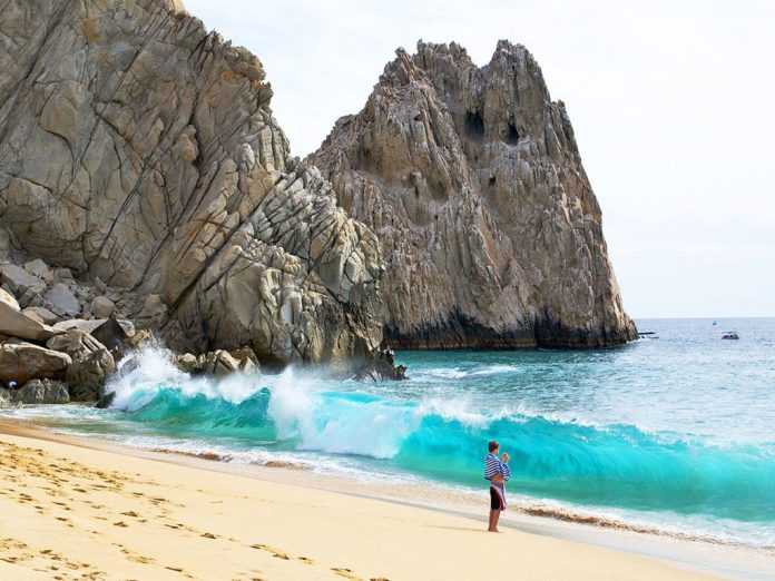 playas en mexico mapa