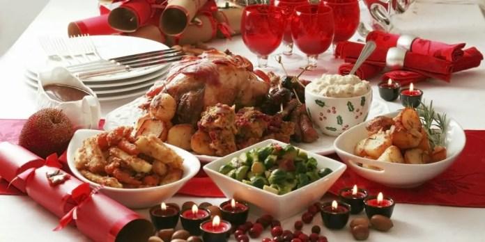 comidas para navidad