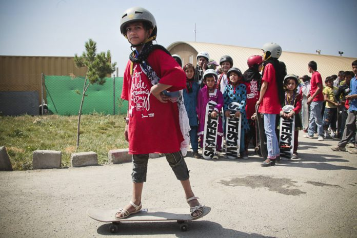 skateboard afganistan
