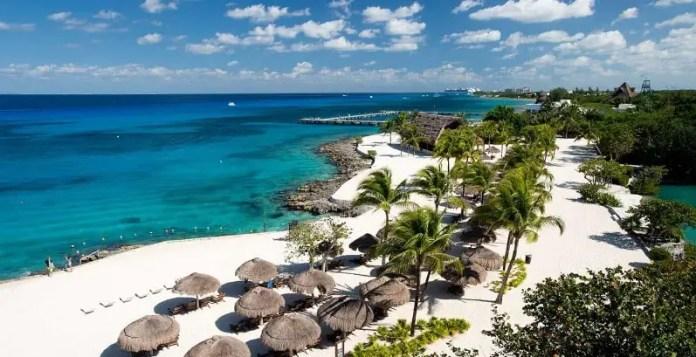 Playas turísitcas en Cozumel: Parque Chankanaab