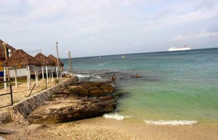 Lugara turísitcos Cozumel: Playa Caletita