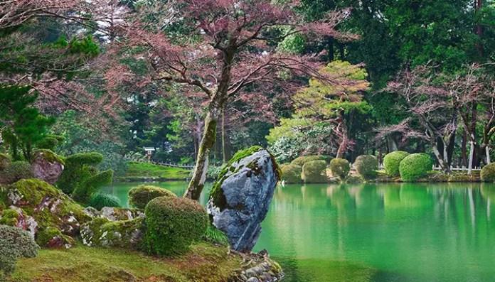 lugares turisticos japon jardines