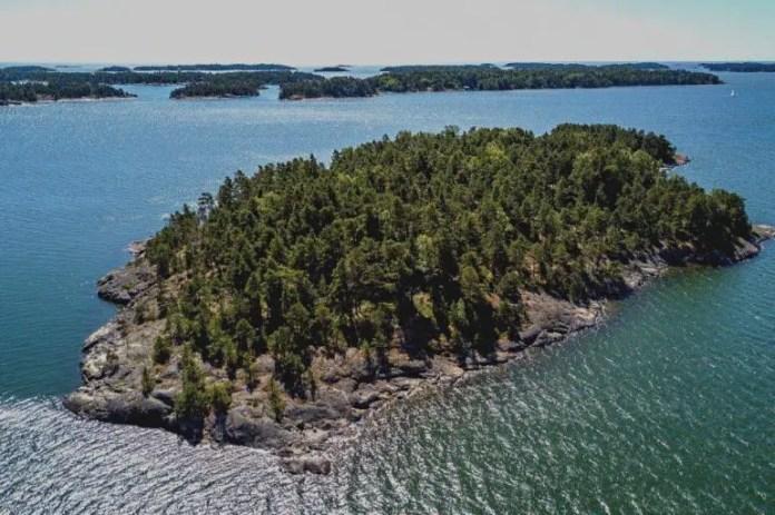 isla paradisiaca finlandia