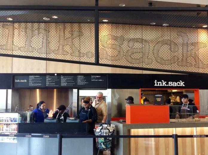 aeropuertos lax restaurantes