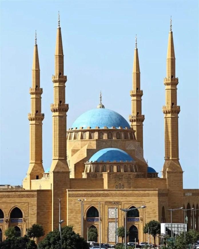 mejore mezquitas en beirut
