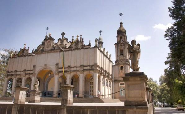 Catedral de la Santa Trinidad etiopia