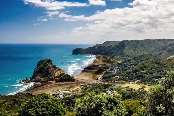 playas en nueva zelanda