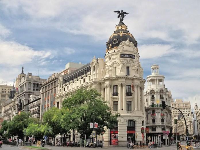 Turismo en Madrid: Edificio Metrópolis