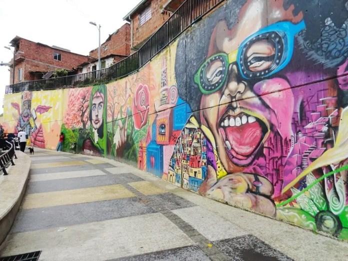 Sitios turísticos en Medellín: Comuna 13