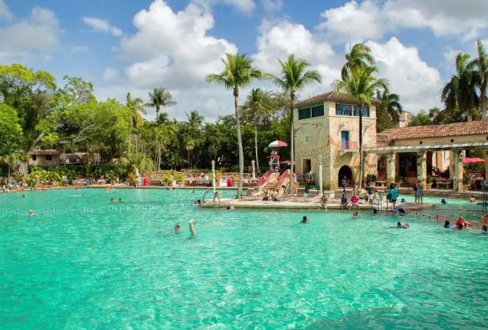 Piscina más famosa Estados Unidos: Venetian Pool Miami