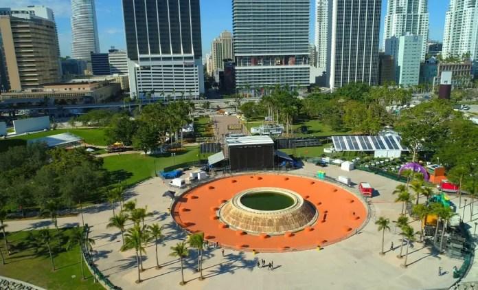 Parques turísticos en Miami Bayfront Park