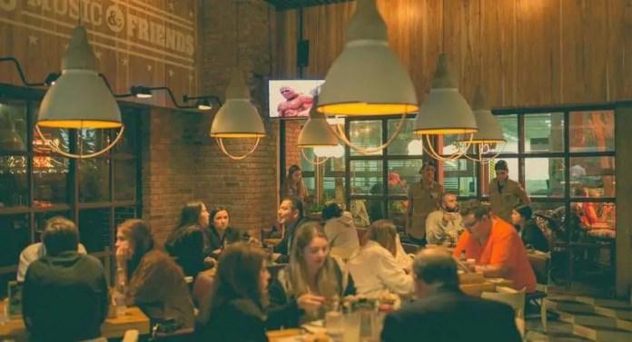 restaurantes en el parque de la 93