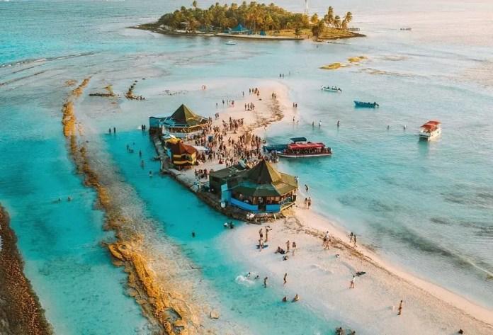 Playas turísitcas San Andrés: Playa Acuario