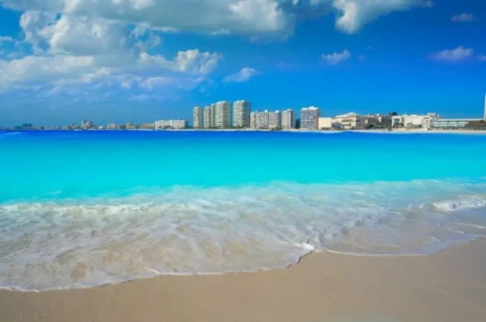 Playas más bonitas de Cancún: Playa Gaviota Azul