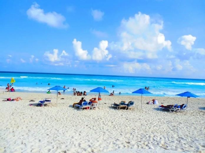 Mejores playas de Cancún: Playa Marlín