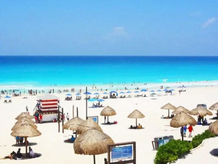 Mejores playas de Cancún: Playa Delfines