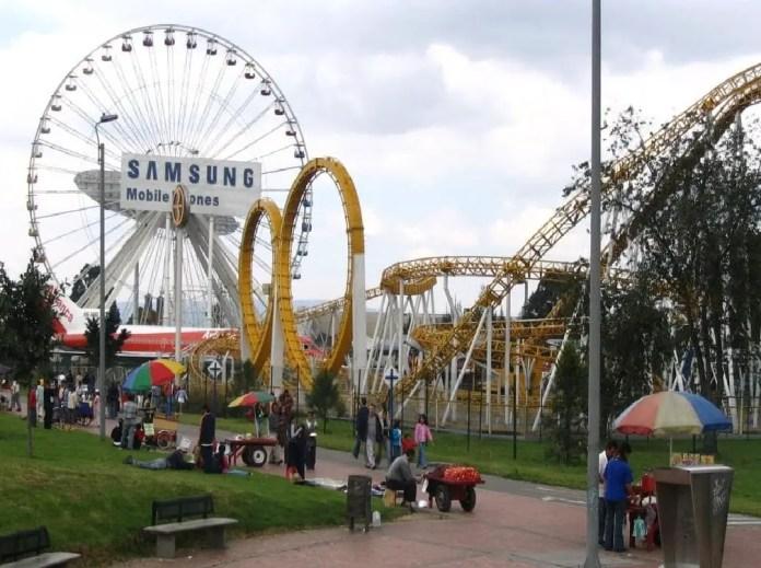 Mejores PArques de Bogotá: Parque Salitre Mágico