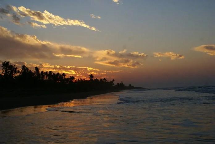 Playas de Veracruz: Playa las Palmitas Agua Dulce