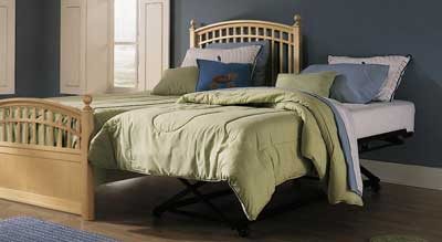 Daybed With Trundle Pop Up