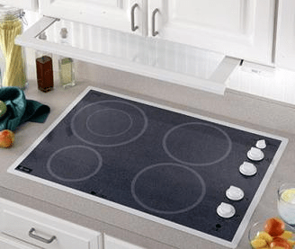 My new GE Electric Cooktop
