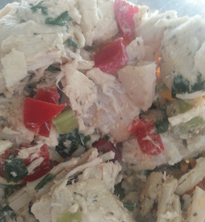 Healthy Chicken Salad Made for a Good Lunch