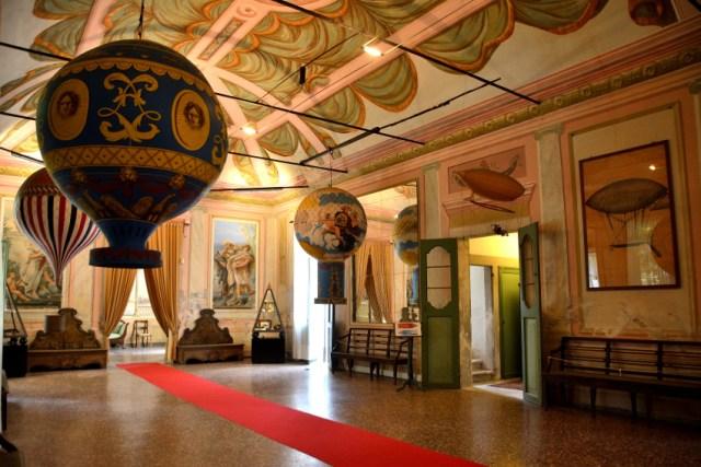 Castello San Pelagio sala delle mongolfiere - padovaedintorni.it ©RobertaZago