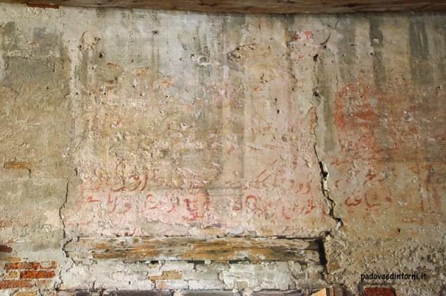 Lazzaretto vecchio Venezia - scritte ©RobertaZago padovaedintorni.it
