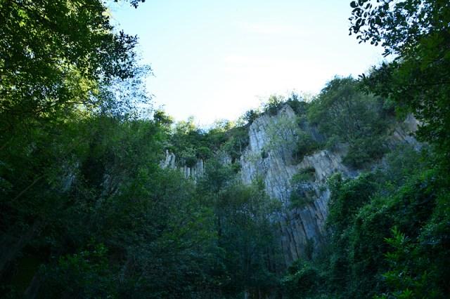 Cava di riolite - Buso dei Briganti ©padovaedintorni.it