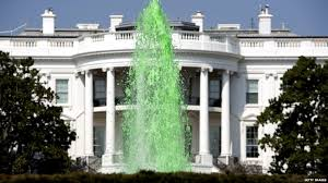 White House in Green