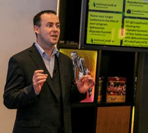 Patrick McKeown, Speaker