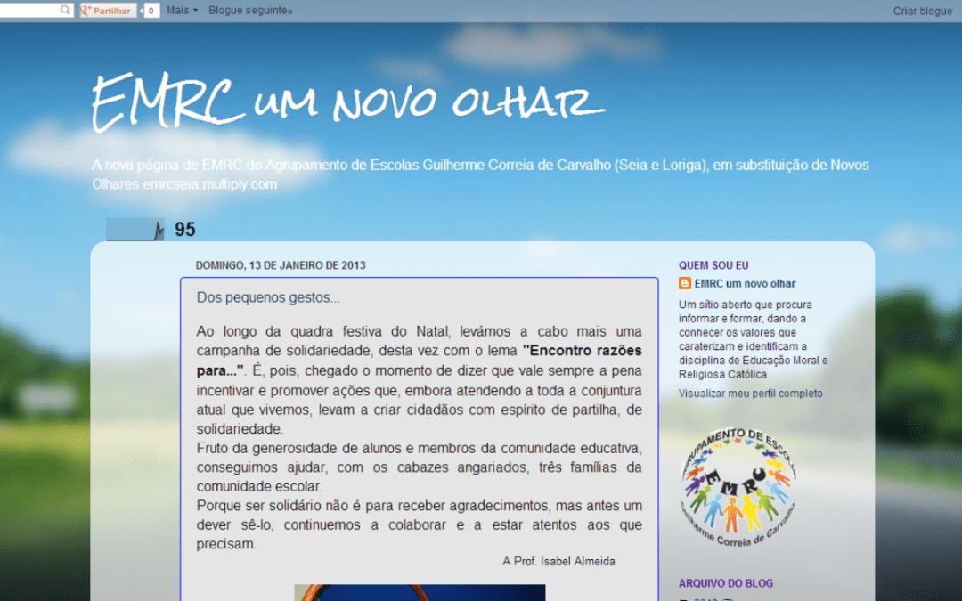 EMRC com página renovada