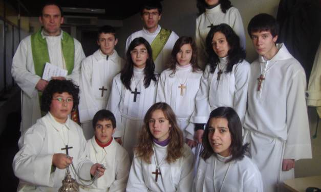 Encontro diocesano de acólitos 2014