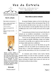 Voz da Estrela nº 33 – Edição especial.