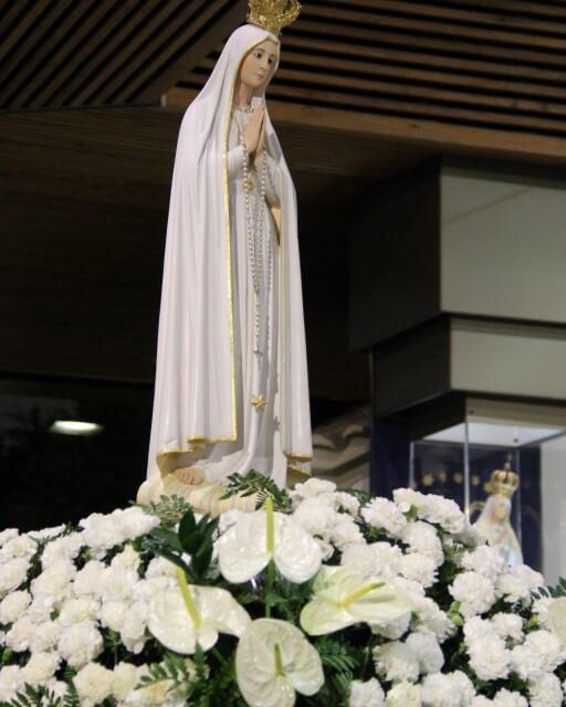 Imagem peregrina visita Diocese