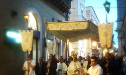La festa del Corpus Domini.
