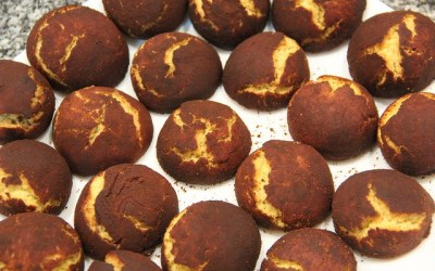 Receitas cá de casa: biscoitos de manteiga envolvidos em canela
