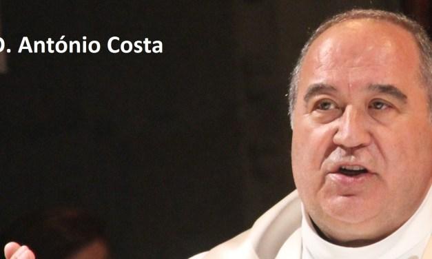 Viseu: D. António Costa é o novo bispo de Viseu