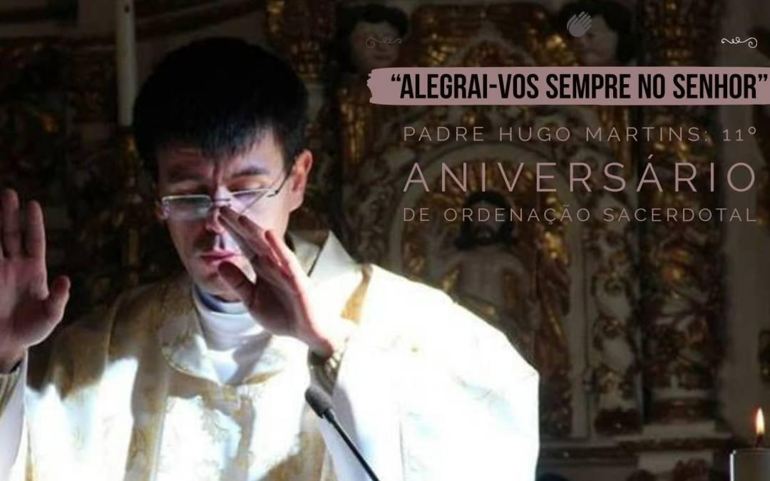 Décimo primeiro aniversário de sacerdote