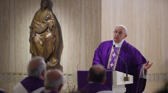 Papieska Msza w czwartek: o radości wiary