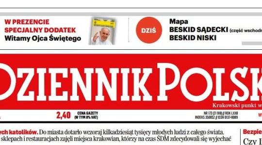 Krakowska prasa zapowiada czuwanie przy grobie świętego Jana Pawła II