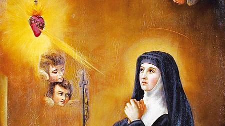 Święta Małgorzata Maria Alacoque, dziewica