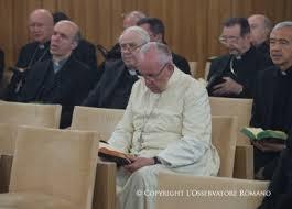 Rekolekcje wielkopostne dla papieża  w I tygodniu Wielkiego Postu (Vatican Service News -25.01.2017)