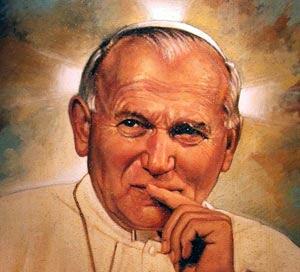 Dla  świętego Jana Pawła II 22.10.2017