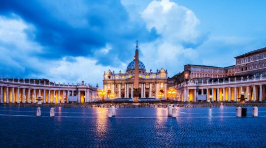 Papa Francesco è tornato a Roma 22.01.2018